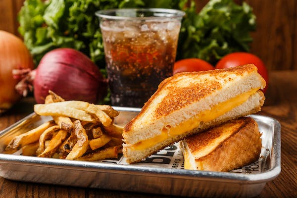 Kid's American Grilled Cheese Sandwich