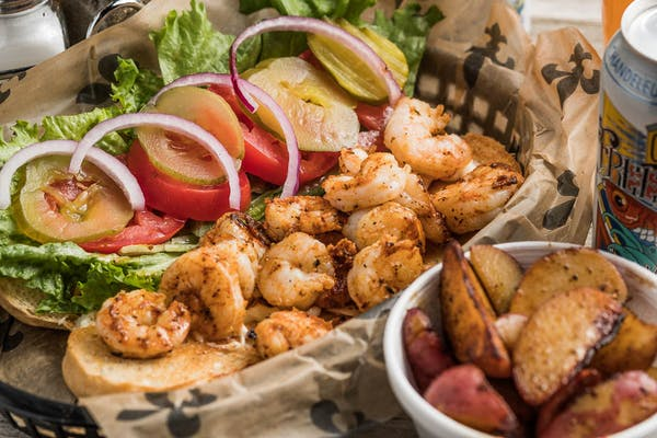 Gulf Shrimp Po-Boy