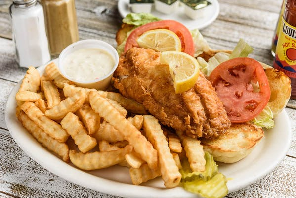 Redfish Sandwich