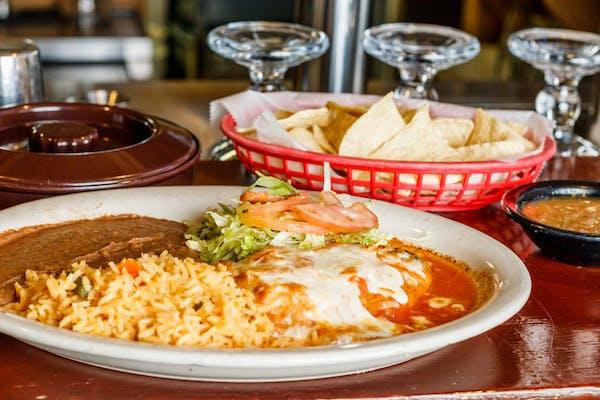 Lunch Chile Relleno