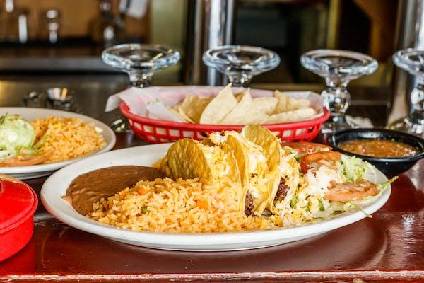 Lunch Crispy Tacos