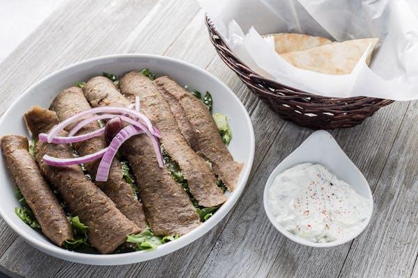 LuLu Gyro Meat  Salad