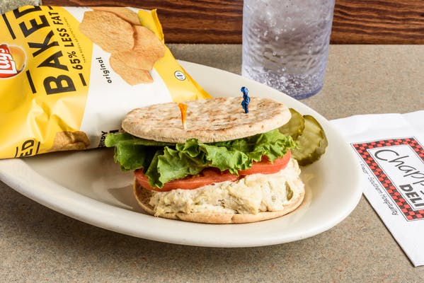 Skinny Chicken Salad Sandwich