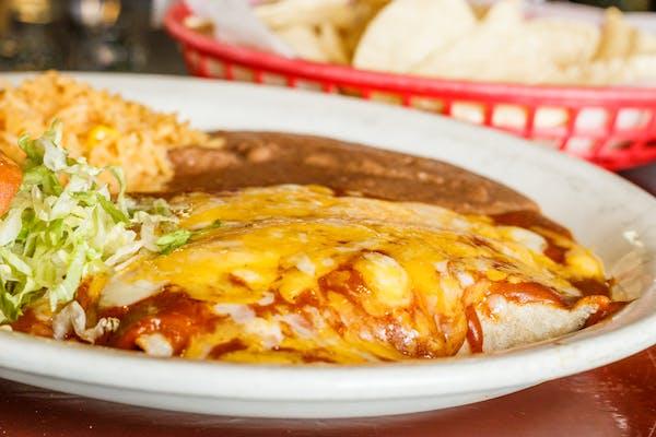 10. Enchiladas Rojas