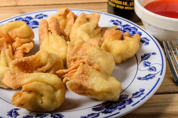9. Fried Crabmeat Wontons
