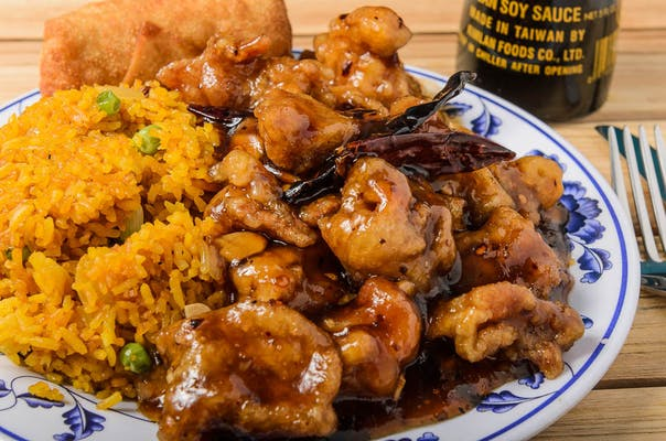 C15. General Tso's Chicken Combo
