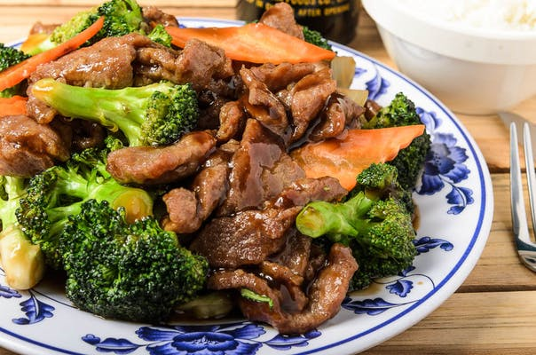 56. Beef with Broccoli