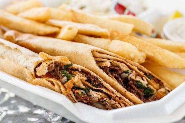 #4 Beef Shawarma