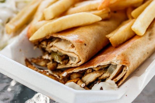 #5 Chicken Shawarma