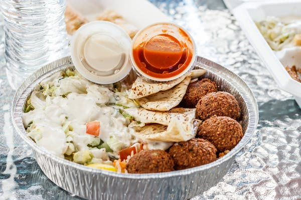 #6 Falafel over Rice