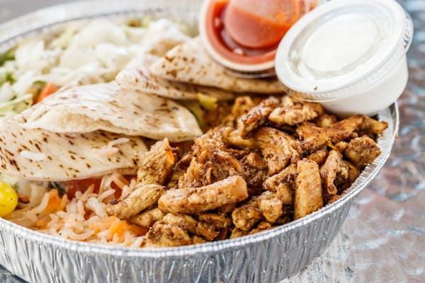 #7 Chicken over Rice