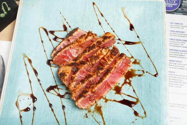 Blackened Tuna Appetizer