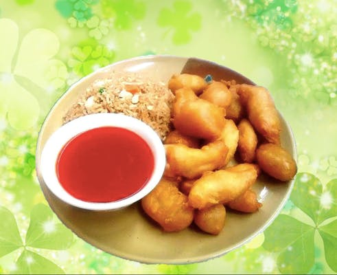 A14. Sweet & Sour Chicken or Pork
