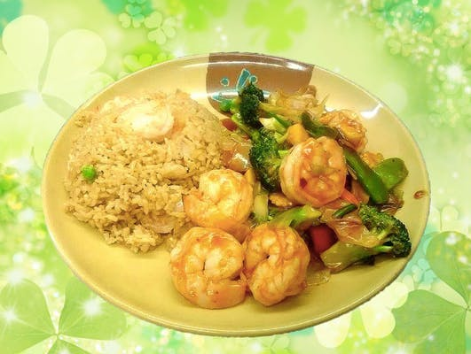 A28. Beef or Shrimp with Mixed Vegetables