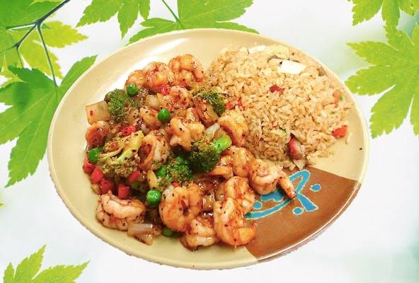 A34. Hot & Spicy Shrimp
