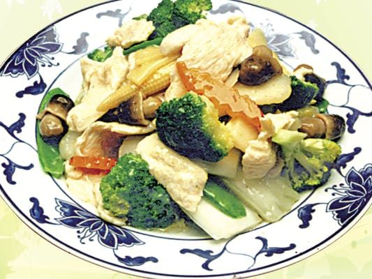 D5. Steamed Chicken with Mixed Vegetables