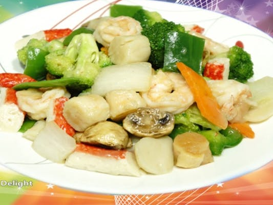 D9. Steamed Seafood Delight