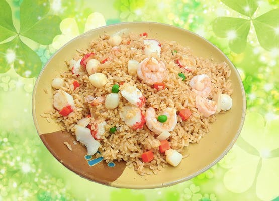 34. Seafood Fried Rice