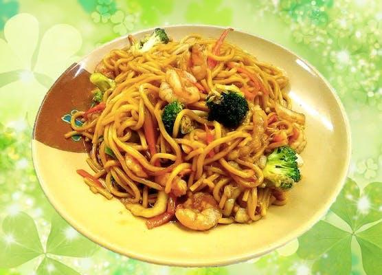 40. Shrimp Lo Mein