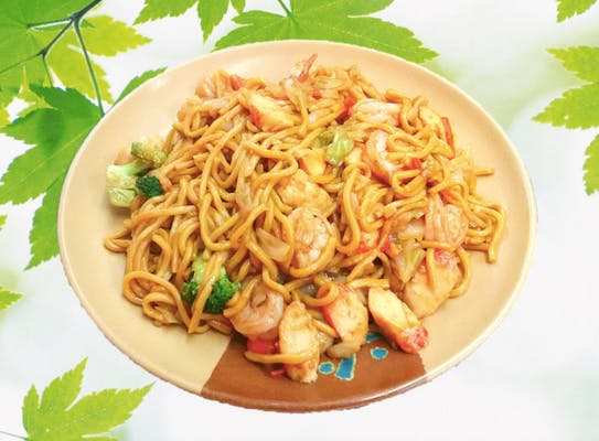 42. Seafood Lo Mein