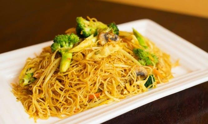 43. Vegetable Chow Mein Fun