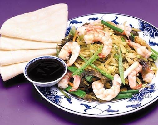 59. Moo Shu Shrimp
