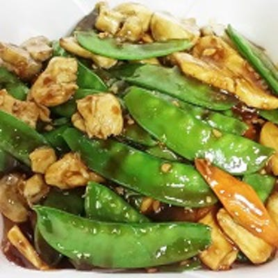 87. Chicken with Snow Peas