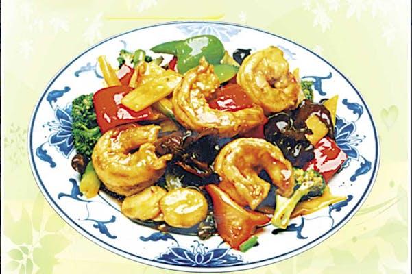 140. Shrimp with Garlic Sauce