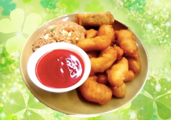 C10. Sweet & Sour Pork or Chicken Combo