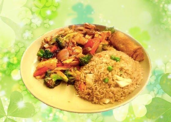 C14. Szechuan Chicken or Pork Combo