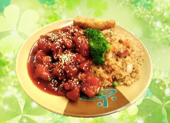 C20. Sesame Chicken Combo
