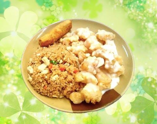 C22. Coconut Chicken Combo