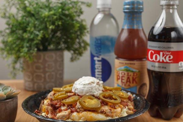 Kickin' Chicken Baked Potato Coca-Cola Combo