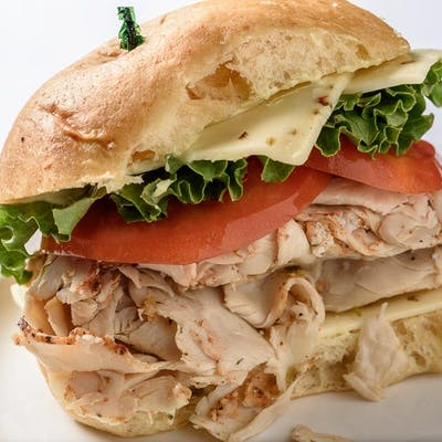 Turducken Breast Sandwich