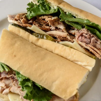 Cajun Pork Loin Roast Poboy