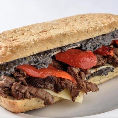 Beef Tenderloin Tip Panini