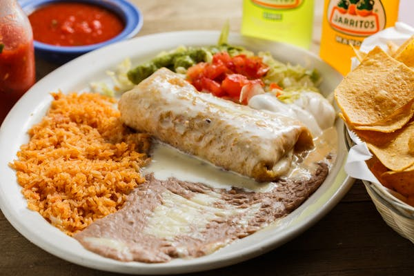 12. Chimichanga Dinner