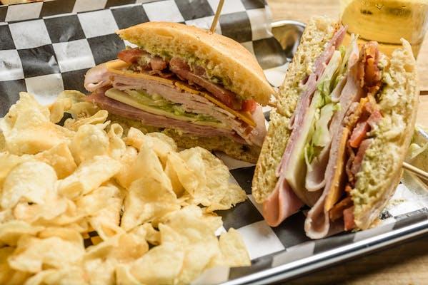 Jalapeño Club Sandwich