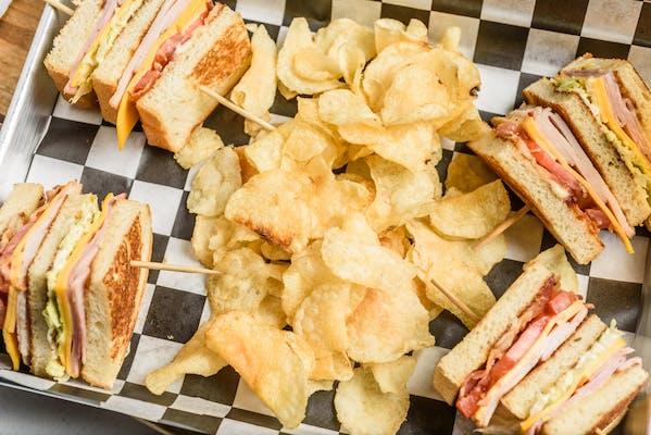 Old Fashioned Club Sandwich