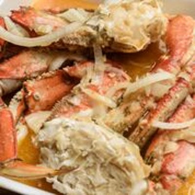 Boiled Dungeness Crabs