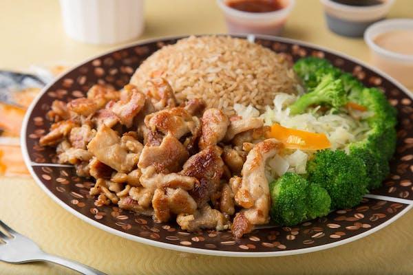 Hibachi Teriyaki Chicken Entrée