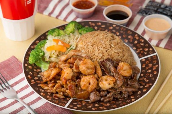 Hibachi Combination Lunch