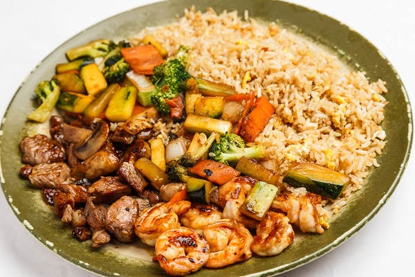Steak & Shrimp Hibachi Combo