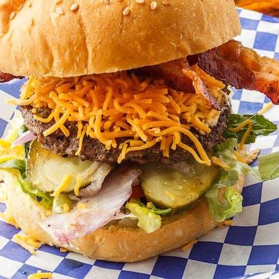 Classic Bacon Cheddar Burger