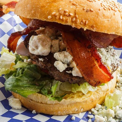 Bacon Bleu Burger
