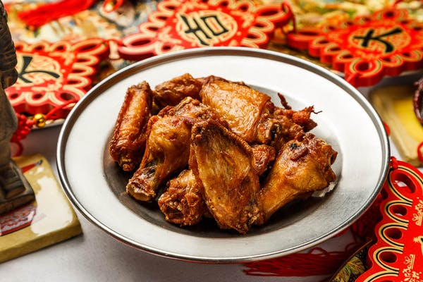 2B. Marinated Chicken Wings