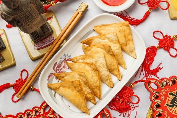 10B. Crab Rangoon
