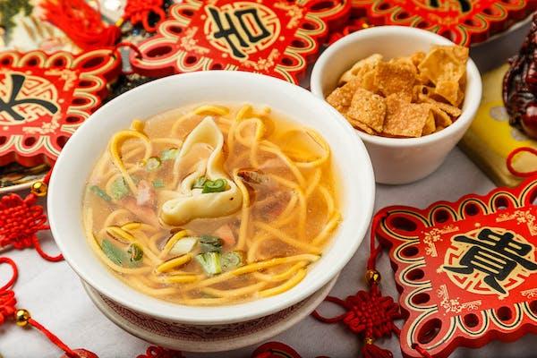 4. Wonton Mein Soup