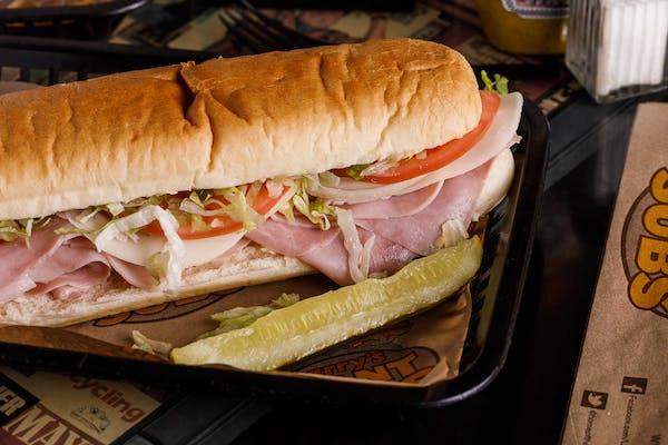 Premium Ham & Cheese Sub