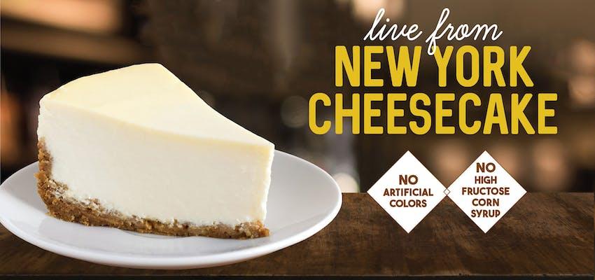 New York cheesecake Fro-Yo